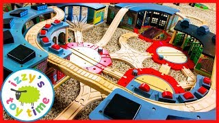 NINE SHEDS! Thomas and Friends with Brio! Fun Toy Trains !