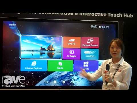 InfoComm 2016: AHA Presents Cosmos Collaborative and Interactive Touch Hub