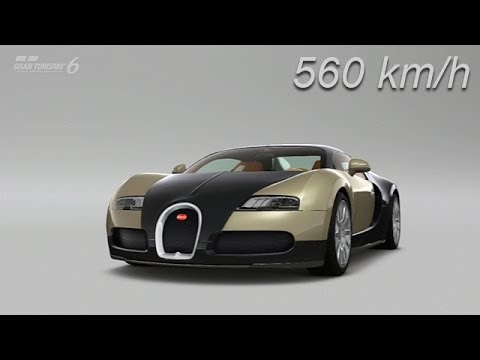 gran turismo 6 bugatti veyron 2013 560 km h top speed. Black Bedroom Furniture Sets. Home Design Ideas
