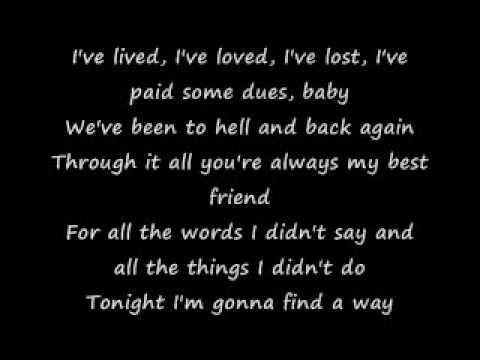 All About Lovin' You (Lyrics) - YouTube