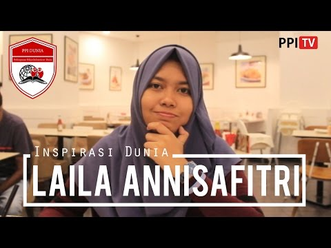 [PPI Dunia] - Laila Annisafitri, Bachelor Johor Baru University Malaysia