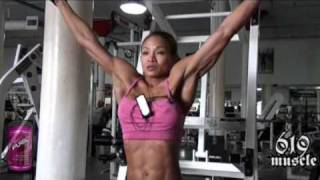 MerizaFigureTV - Meriza 14 Days Out Back & Abs