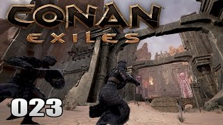 CONAN EXILES [023] [Der Tempel der Toten] [Multiplayer] [Deutsch German] thumbnail
