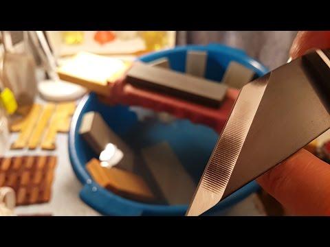 Заточка нож-косяка Зубр (сталь У8А)