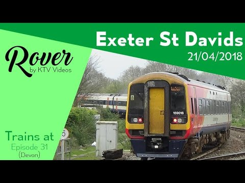 Trains At Exeter St Davids Gwml 21 4 18 Youtube