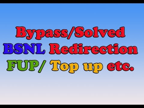 how to avoid redirection problem