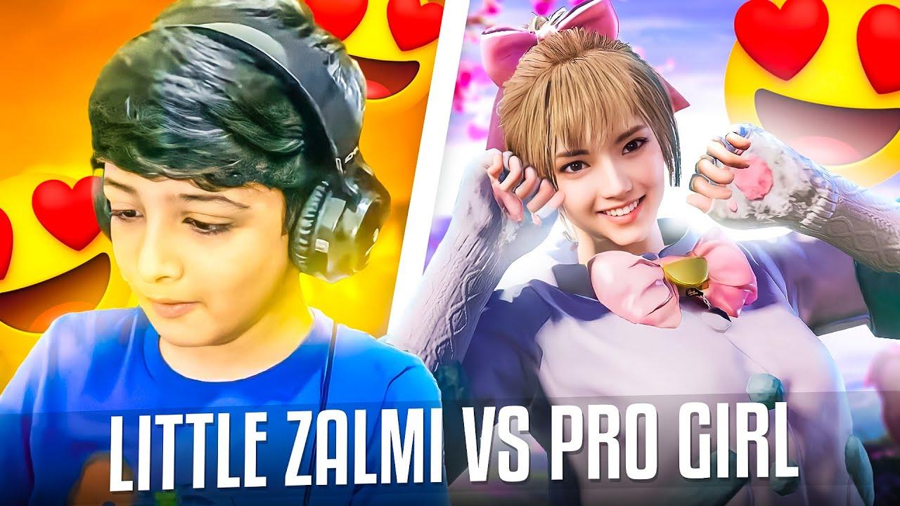 Little Zalmi Vs Pro Girl | Intense TDM Ever | Little Zalmi @2A-MAYA