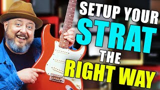 How to Setup Your GUITAR for Beginners (Strat Edition)