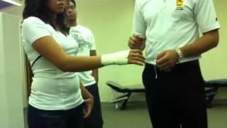 Taping - Wrist stabilization
