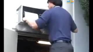 видео Монтаж и установка тепловых завес