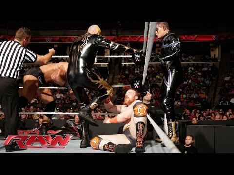 Sheamus & The Usos vs. Cesaro & Gold & Stardust: Raw, Sept. 22, 2014
