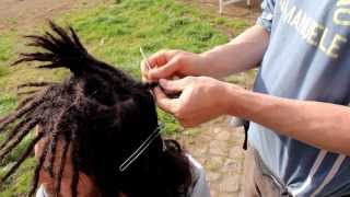 come fare i dreadlocks con l'uncinetto !! tutorial ita eng subs!! how to make dreadlocks
