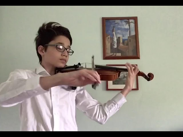 Miro Performance for Young Performers Concert