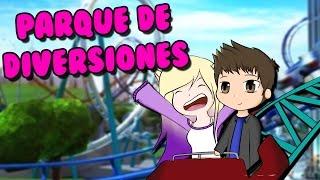 VISITAMOS UN PARQUE DE DIVERSIONES | Roblox Parque de Atracciones en español thumbnail