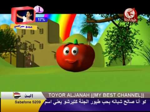البندورة الحمرى   Toyour al jannah  Bandoura hamra