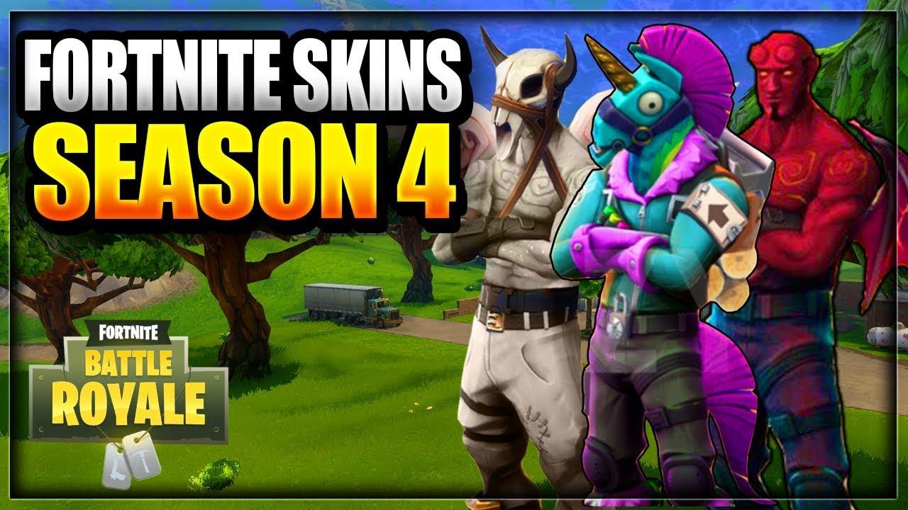 new leaked fortnite season 4 skins tier 100 battle pass rewards battle royale information - leaked new fortnite skins season 4