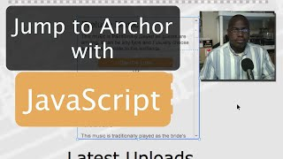 JavaScript Jump to Anchor - Adobe Muse