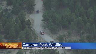 Crews Keep Cameron Peak Fire From Growing