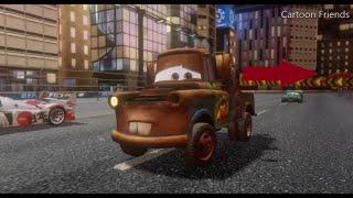 Cars 2 Gameplay HD - Mater World's Best Backwards Driver Achievement