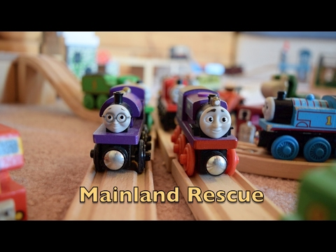 Mainland Rescue | Thomas and friends Wooden Railway Movie (2017)