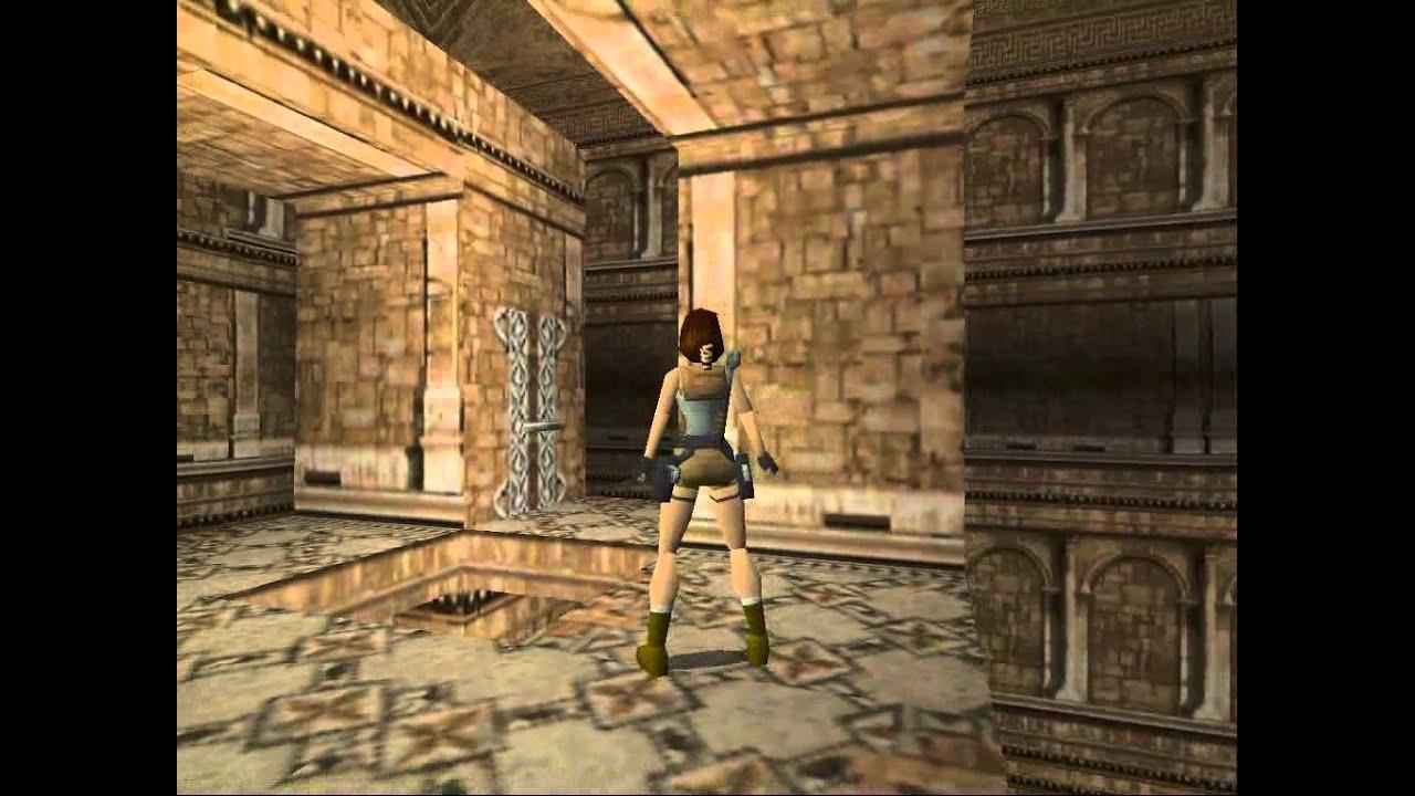Tomb Raider 1 St Francis Folly Level 5 Walkthrough Youtube
