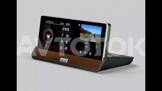 Aвтомобильные GPS-навигаторы+видеорегистраторы LX-002/LX-001