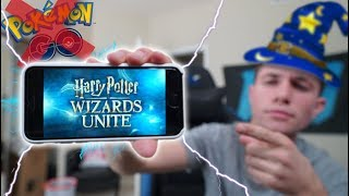 connectYoutube - NIANTIC'S NEW GAME?! What Does THIS Mean for Pokémon Go... ( Harry Potter: Wizards Unite )