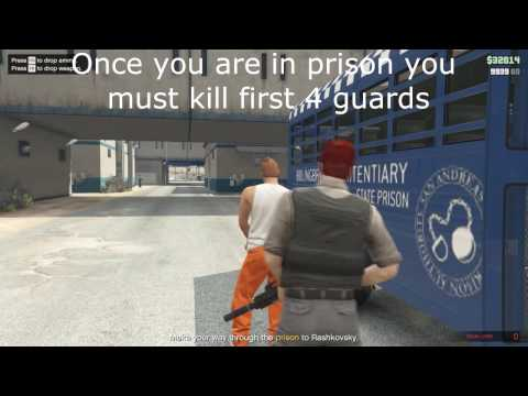 FASTEST WAY TO DO PRISON BREAK HEIST - EASIEST WAY - GTA V