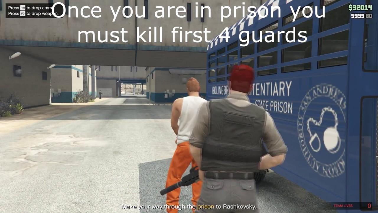 Prison Break Pilot Avoid Jets Gta V Youtube