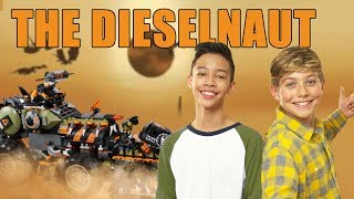 LEGO N NJAGO The Dieselnaut Unboxing – The Build Zone