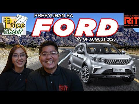 Ford Pricelist Philippines 2020