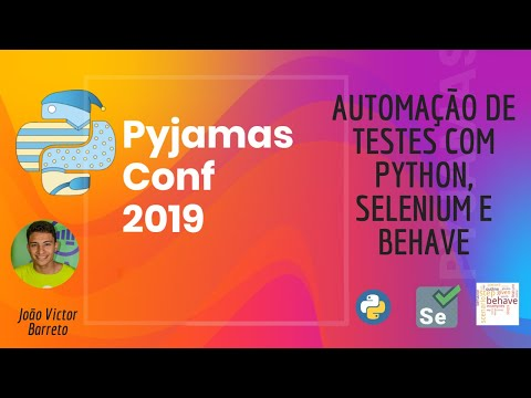 Image from Automação de Testes com Python, Selenium e Behave