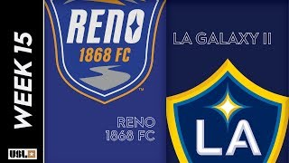 Reno 1868 FC vs. LA Galaxy II: June 15th, 2019