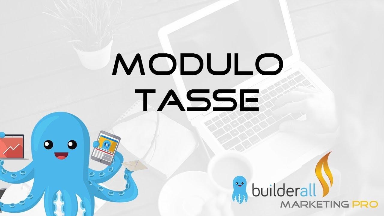 Builderall Tutorial - Come Compilare il Modulo Tasse