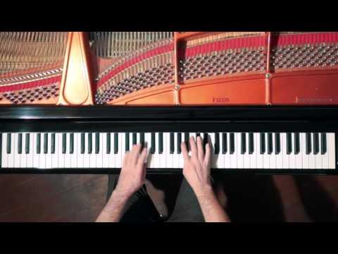 Bach 2 Part Invention No.13 - P. Barton, FEURICH Harmonic Pedal piano
