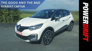 Renault Captur : The Good and The Bad : PowerDrift