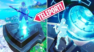 *NEW EVENT* SECRET TELEPORT FOUND..!! | Fortnite Funny and Best Moments Ep.462