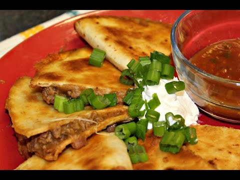 Easy 5 Ingredient Ground Beef Quesadillas