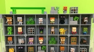 Minecraft Mini-Figure Collectors Case with Blind Boxes Series 4 Obsidian Series| Kids Station