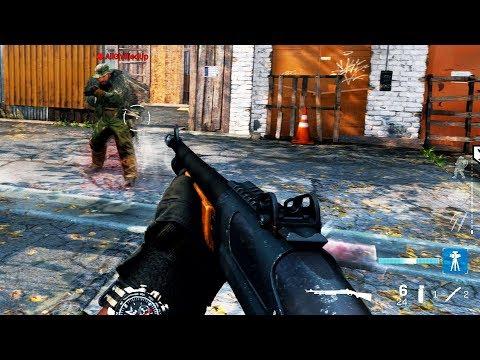 PUMP SHOTGUN GAMEPLAY - Modern Warfare Multiplayer