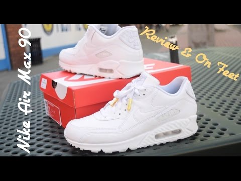 air max white leather