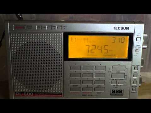 Tecsun PL-600 Radio Mauritania