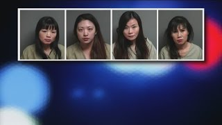 Massage parlor busted