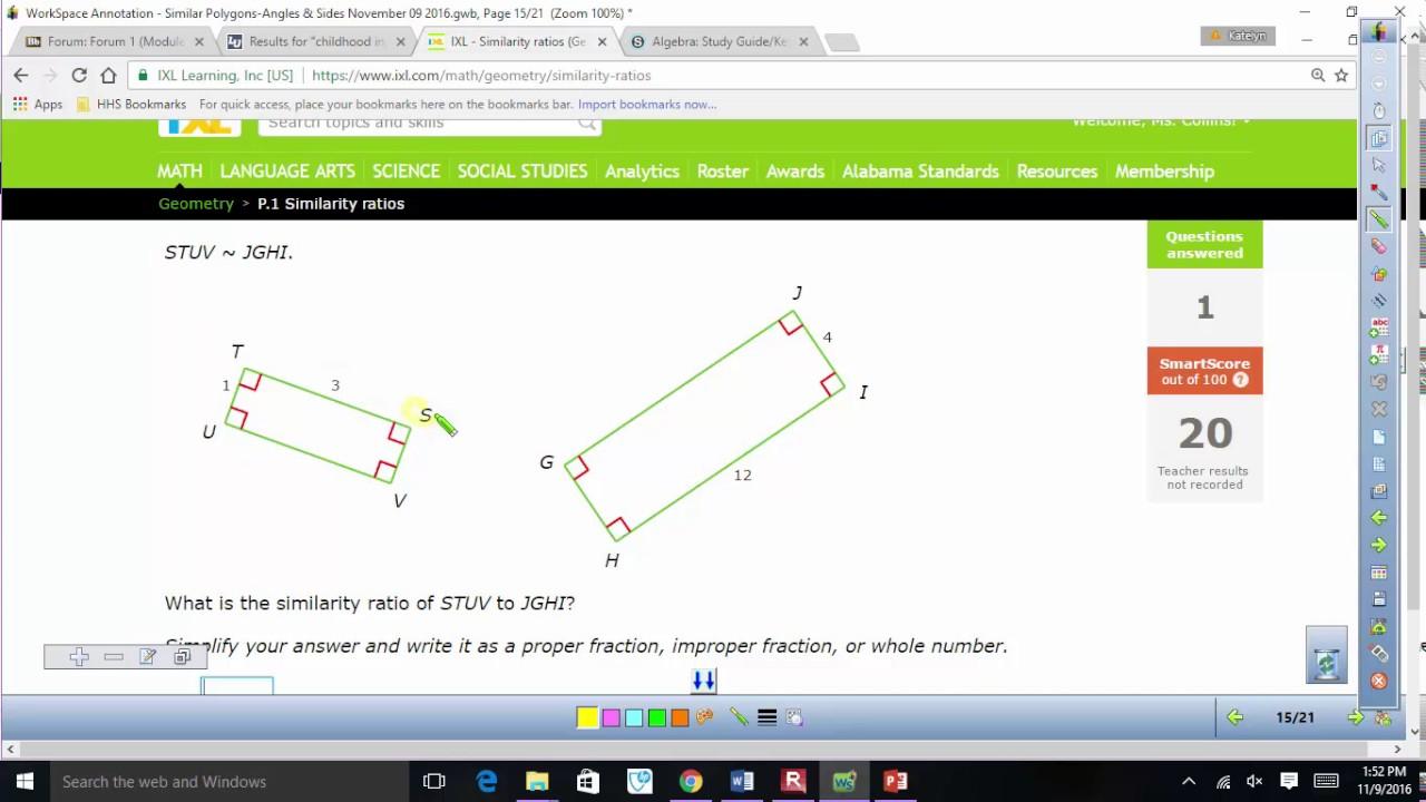 IXL P 1 P 4 Help - YouTube