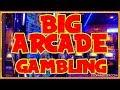 BIG Arcade Gaming Session