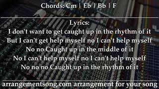 Justin Timberlake - Say Something - Lyrics Chords Backing Track Karaoke Minus Cm (original key)