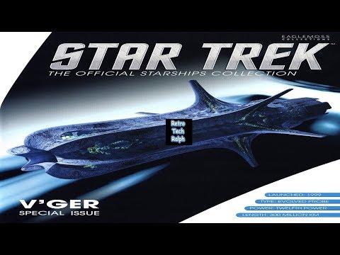 Star Trek Official Starship Collection By Eaglemoss. V'GER Special