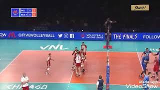 Final Six Ligi Narodów: Polska - Rosja 1:3 - skrót meczu