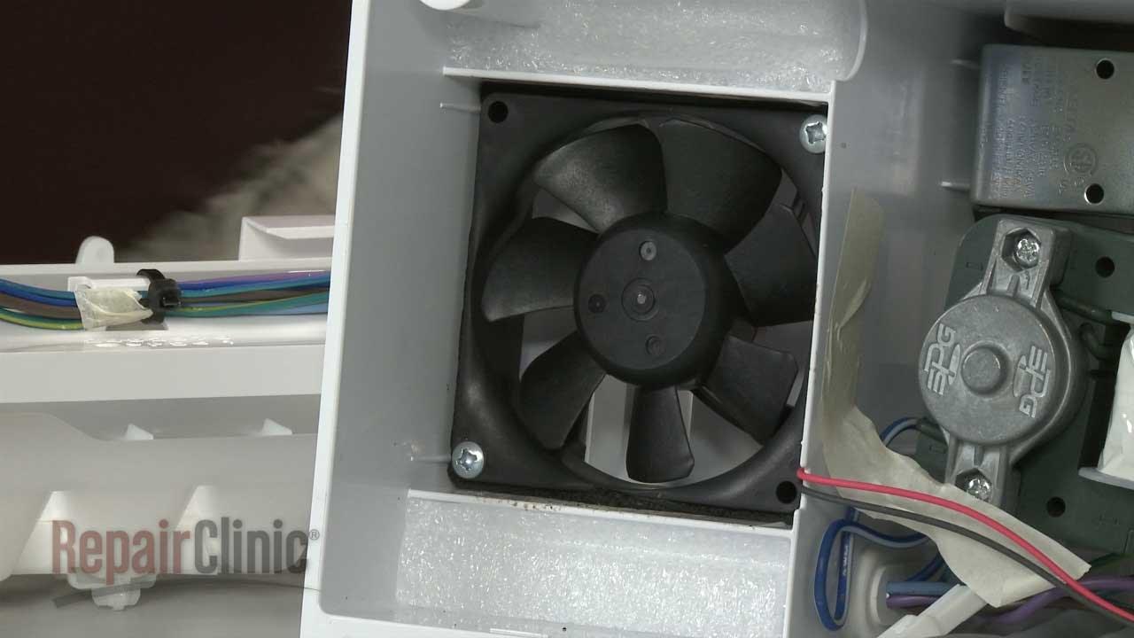 Frigidaire Refrigerator Icemaker Cooling Fan 5304493604