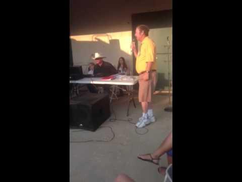 Papa Leach singing Karaoke!